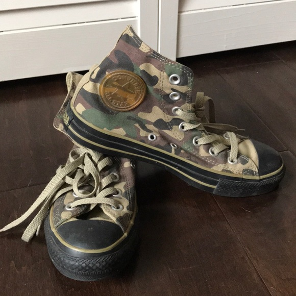 Converse Shoes | Camouflage Converse